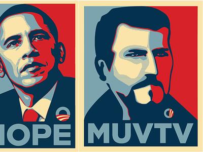 From Obama to Carrarmato obama illustration