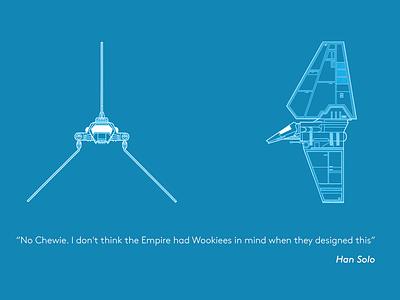 Star Wars design quote quote design starwars