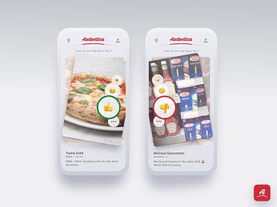 Emoji 😋 rating cards ui ux rating emoji