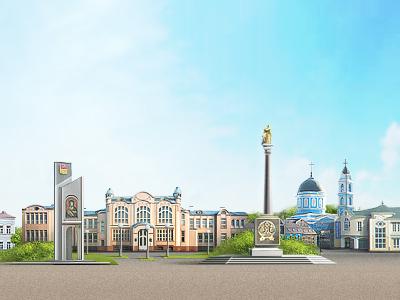 City city design pixels retouch