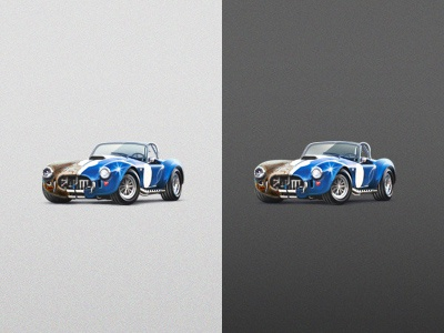 1967 Shelby Cobra by Ilia PV on Dribbble