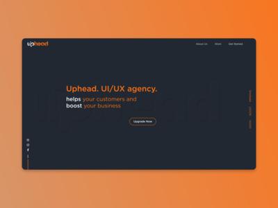 Uphead Landing Website