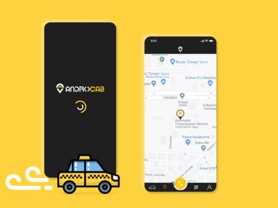 AndroCab App Design