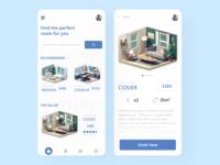 Room building App app design bathroom livingroom house room application design app popular trend uidesign uxdesign ui design ux ui