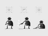 Monochrome Gunslinger