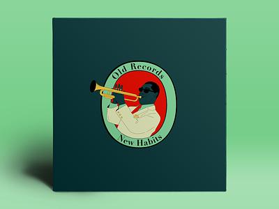 Old Records, New Habits jazz trumpet music single album album cover hiphop
