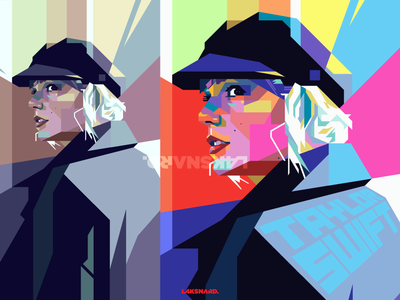 Taylor Swift WPAP pop art popart single evermore song taylor version lover folklore taylor swift portrait art portrait design adobe illustrator wpap vector illustration