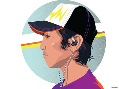 Self Portrait illustration vector