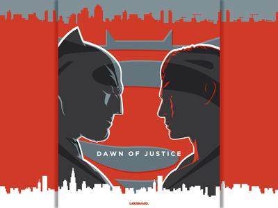 Batman V Superman : Dawn of Justice, alternate poster