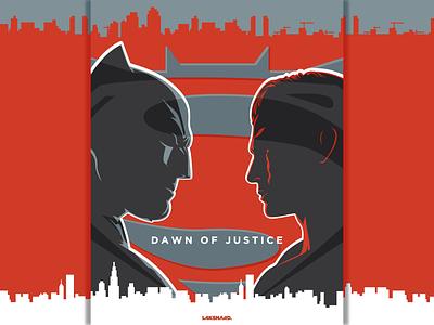 Batman V Superman : Dawn of Justice, alternate poster gal gadot cavil affleck silhouette aquaman green lantern flash wonder woman marvel dc superman batman movie poster design adobe illustrator vector illustration