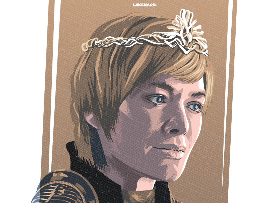 Cersei Lannister elephant westeros queen game of thrones cersei lannister cersei lannister adobe illustrator vector illustration