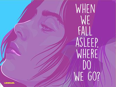 Billie Eilish grammys adobe illustrator vector illustration bad guy billie eilish