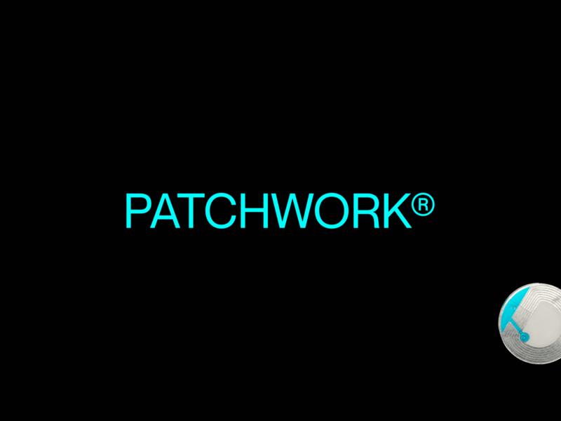PATCHWORK® design identity concept logo typography type