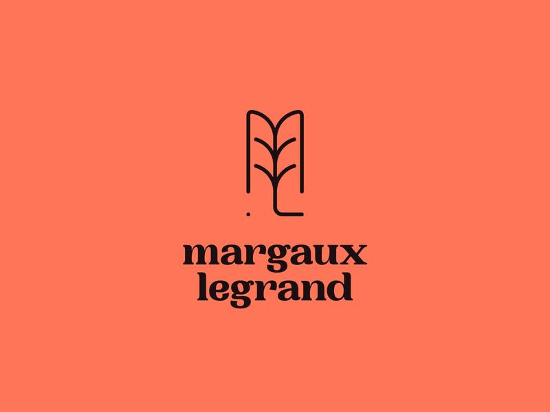 Margaux Legrand 2 brand branding design identity concept logo typography type