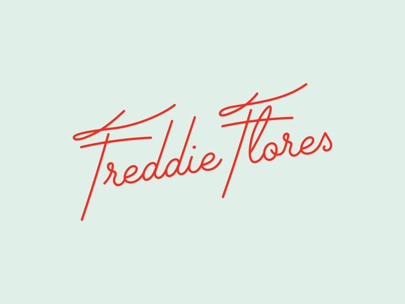 Freddie Flores Logo By Walker Carney Dribbble Dribbble