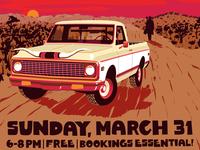 Blake Dantier and the Smokin' Guns March 31