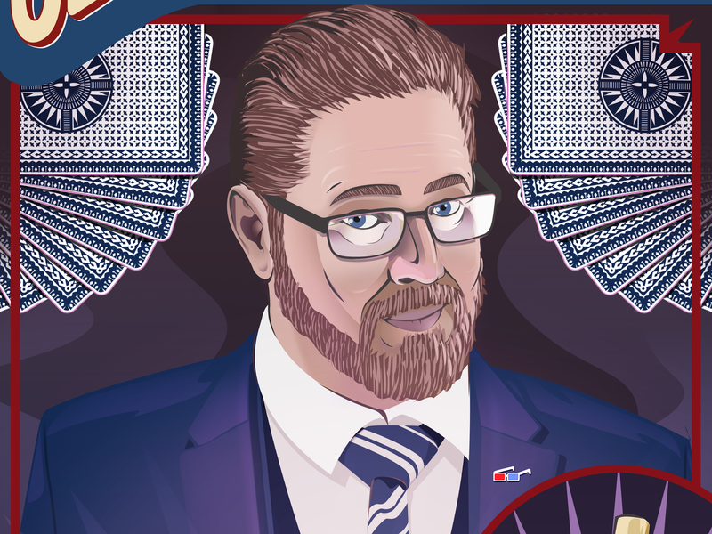 Jon Armstrong - The Comic Amazement Tour design poster art illustration digital art