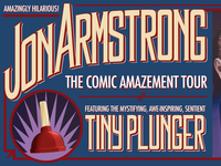 Jon Armstrong - The Comic Amazement Tour Lettering