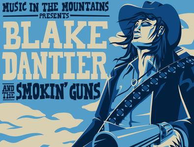 Blake Dantier - Oct 13 Poster Excerpt austria outlaws cowboy design poster art illustration digital art