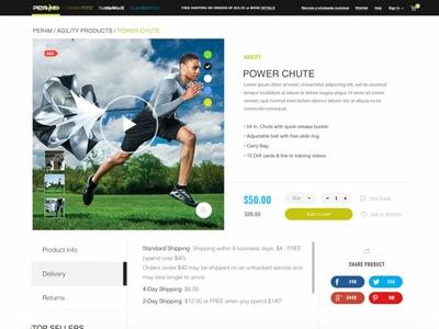 Escalade Sports Ecom Solution