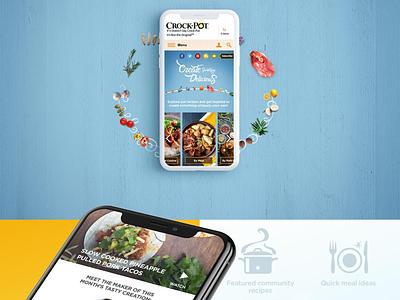 CrockPot E-commerce Solution brand art direction ecomm designer cx ux ui