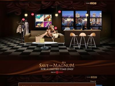 Explore the Magnum Pleasure Lounge at Target