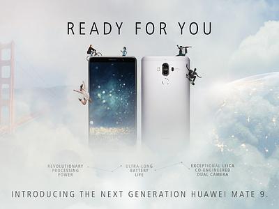 Huawei Campaign Key Visual (Concept Art) concept art art direction campaign design design