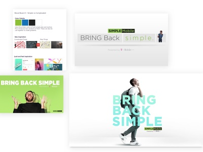 Simple Mobile Campaign (Concept Art) art direction concept art campaign design design