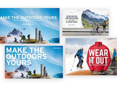 Eddie Bauer Campaign Concept Art campaign design concept art art direction design