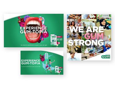 G.U.M. Campaign Concept Art concept art campaign design art direction design