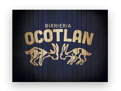 Birriera Ocotlan Restaurant Logo Design vector branding logo art direction design