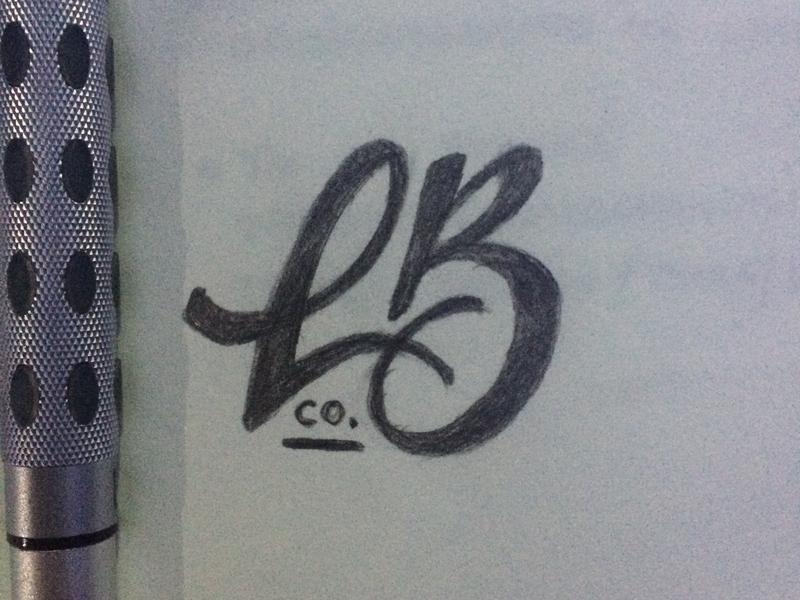 monogram logo sketch logo logotipo typography handmade monogram logo monogram calligraphy lettering