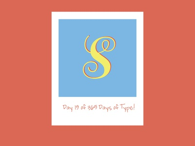 Day 19 of 365 Days of Type!