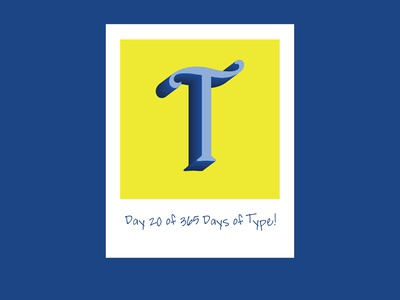 Day 20 of 365 Days of Type!