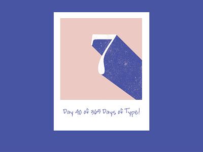Day 40 of 365 Days of Type! adobe typography design type designer graphic designer graphic graphic design graphicdesign type adobe creative suite typedesign typography letterform adobecreativesuite 365daysoftype 365 vector design