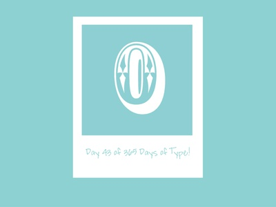 Day 43 of 365 Days of Type! retro adobe graphics type designer type design designer graphic designer graphic design type adobe creative suite typedesign typography letterform adobecreativesuite 365daysoftype 365 vector design