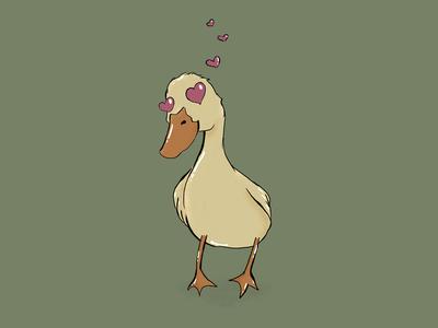Ducking in love