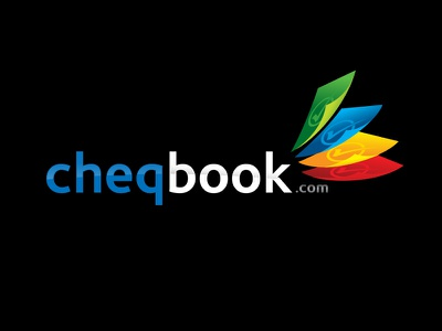 Cheqbook Logo colourful logo accounting logo accounting branding logo