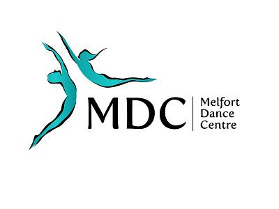 Melfort Dance Centre Logo branding logo dance logo dance company dance dance studio milford dance studio