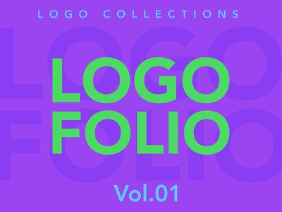 Behance Logofolio Vol.01 logofolio logo collections logotype typography fonts logo sign identity branding brand creative designer