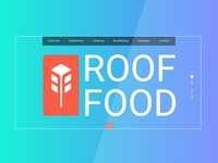 ROOF FOOD | Redesign web-site