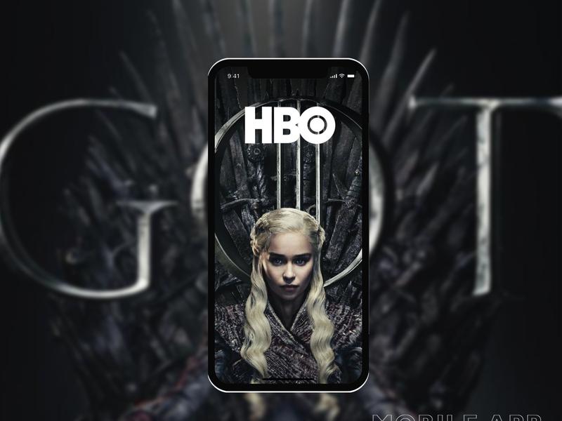 HBO | App by Vadim Kurnevich on Dribbble