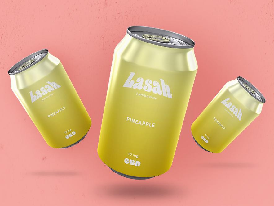 Lasah Packaging graphic  design branding adobe illustrator packaging design