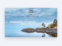 Scent of Finland ux web typography webdesign design