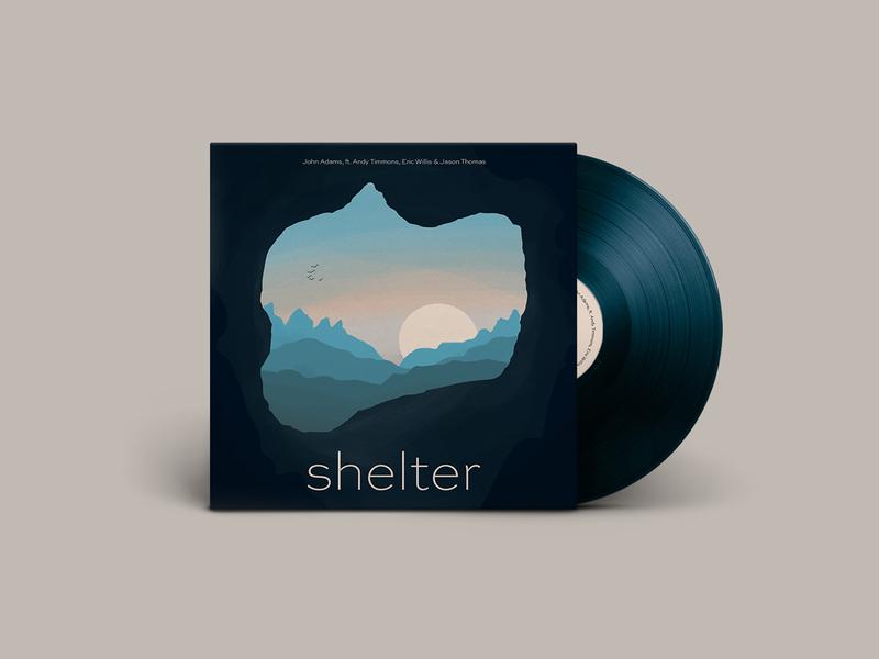 Single Cover Artwork album cover album album art record procreate digital print design illustration