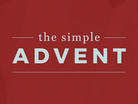 The Simple Advent