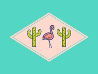 Midcentury Modern Inspired Oasis - Palm Springs Vibes