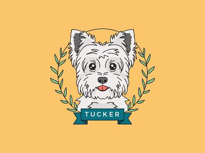Portrait of a Parti Yorkie portrait custom portrait dog portrait dog pet portrait pet linework illustration parti yorkie yorkie