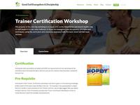 Training Page