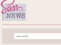 Sass News Page